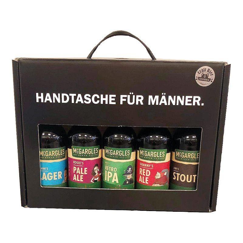 Handtasche für Männer, International